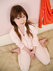 Nasty asian girl Yu Ayase solo session