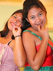 Two naughty Filipinas enjoy together