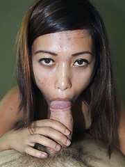 Wild Filipina spinner wants as much cock as possible